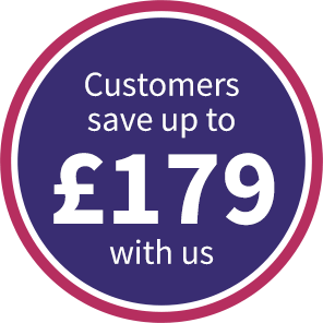 Customers save up to 30% with us