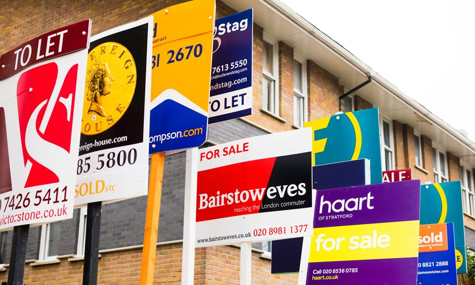 """UK property market is """"on fire"""" according to Bank of England."""