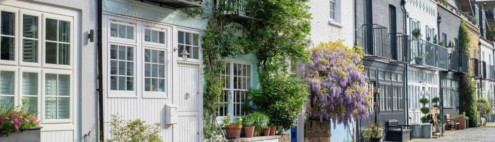 In England, only higher-income Londoners can rent a property.